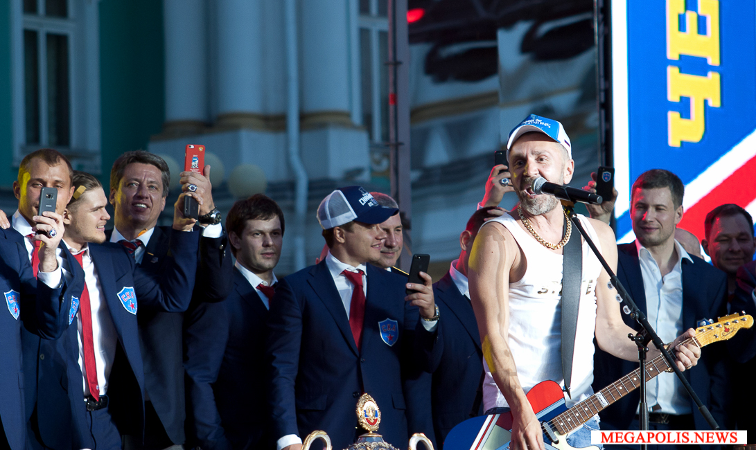 Сергей Шнуров СКА Парад чемпионов (SKA parad chempionov)