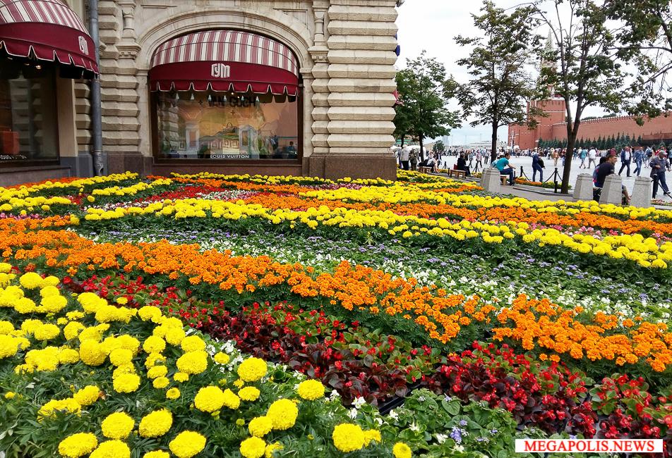 5-й Фестиваль цветов в ГУМе