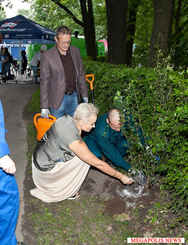 ЦПКиО им. Кирова и фестиваль «Усадьба Jazz» провели совместную экологическую акцию