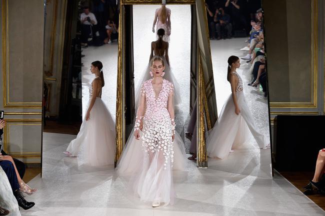 Жизнь в розовом цвете - коллекция кутюрных свадебных платьев от KAVIAR GAUCHE