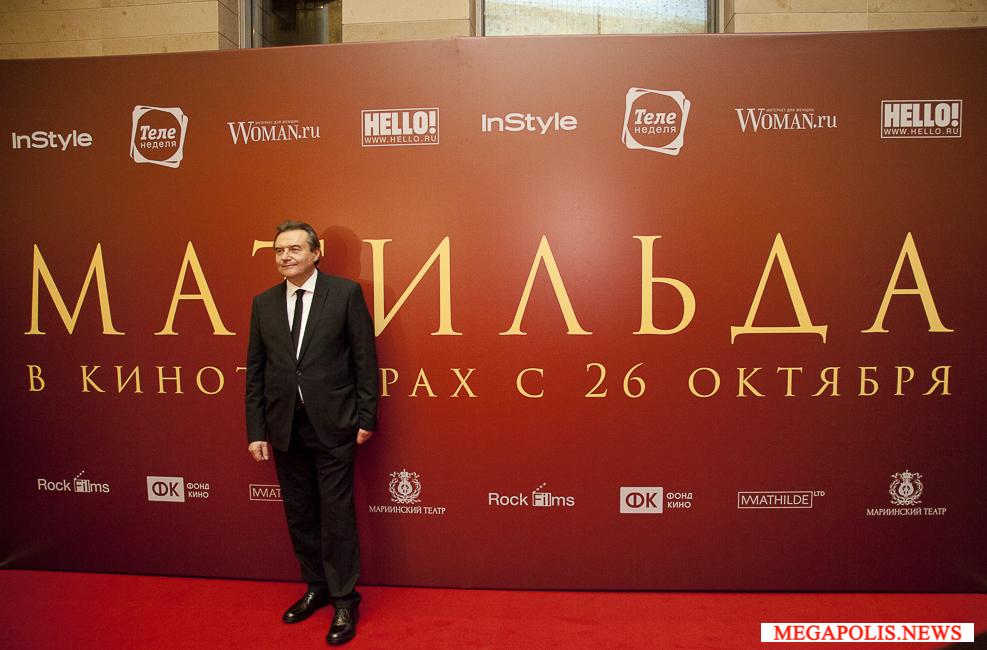 Дапкунайте и Ургант на грандиозной премьере «Матильды» в Мариинском театре
