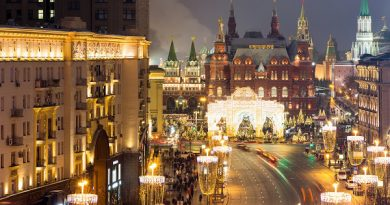 Новый год в Москве программа