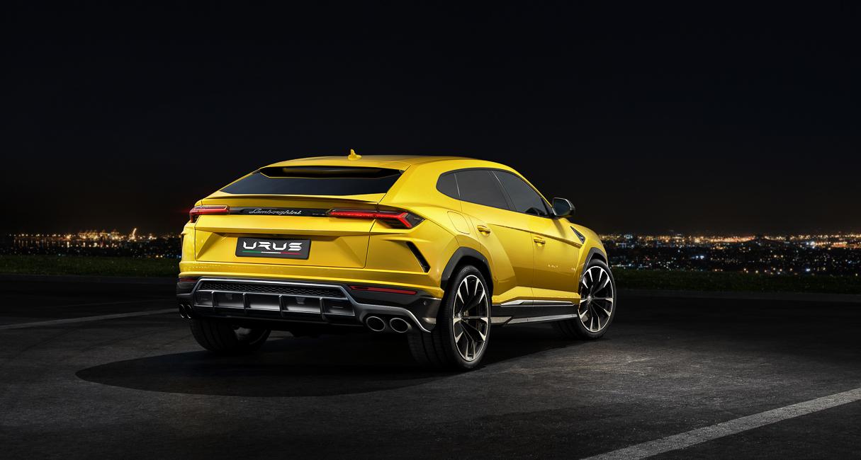 Компания Lamborghini представила самый быстрый кроссовер