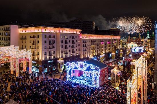 Рождественская программа в Москве 2018