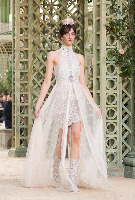 Цветущий сад от Карла Лагерфельда: Chanel Haute Couture SS18