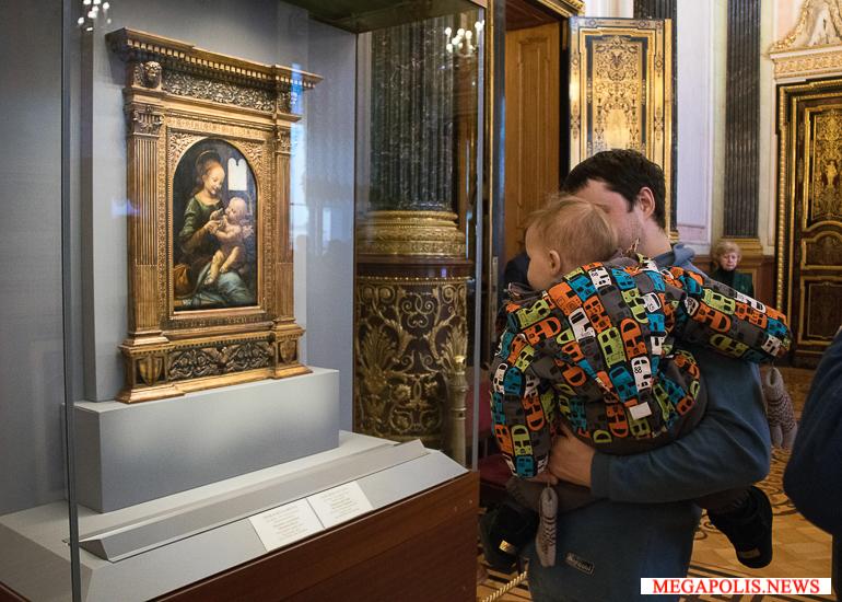 Всемирно известные картины Леонардо да Винчи покинули привычное место в Эрмитаже