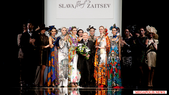 Показ коллекции pret-a-porter de luxe Вячеслава Зайцева