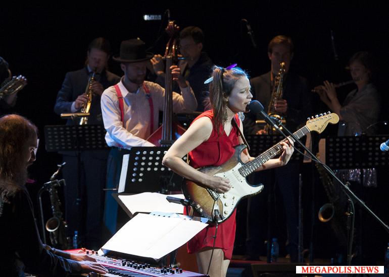 Биг-бенд Моники Рошер выступит в Петербурге