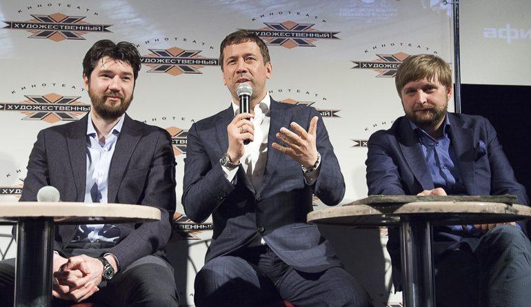 «Броня крепка»: Андрей Мерзликин и Ким Дружинин представили в Петербурге фильм «Танки»