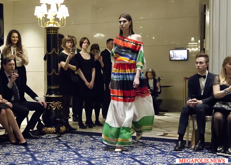 Валентин Юдашкин представил коллекцию Supremus в Петербурге