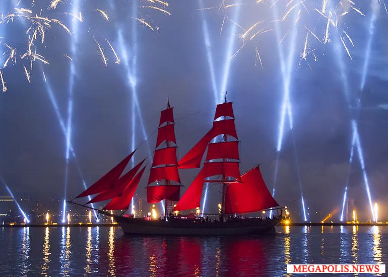 Праздник «Алые паруса» посетили около 1,2 млн человек
