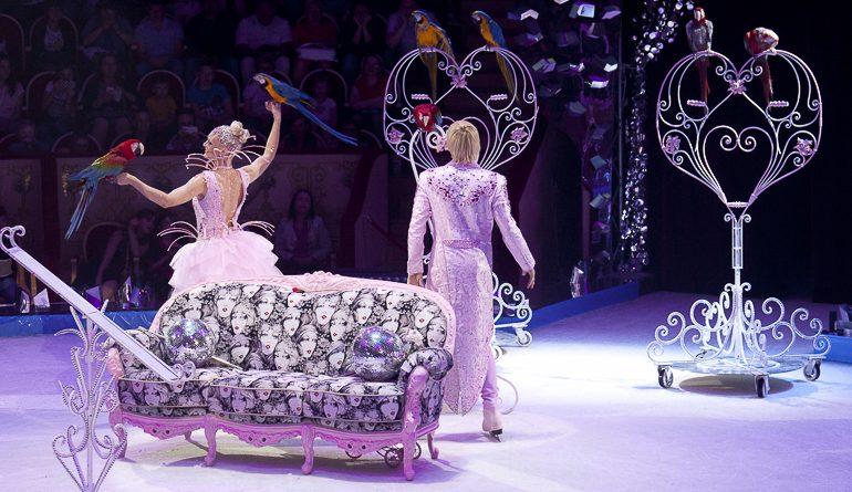 Ледовая сказка в цирке на Фонтанке