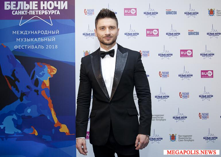 Сергей Лазарев выступит на Дворцовой площади
