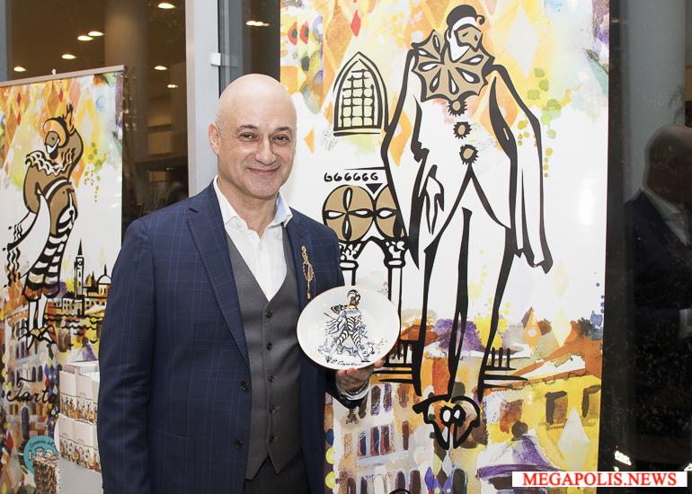 Выставка Миши Ленна «Commedia dell'arte. Импровизации в фарфоре»