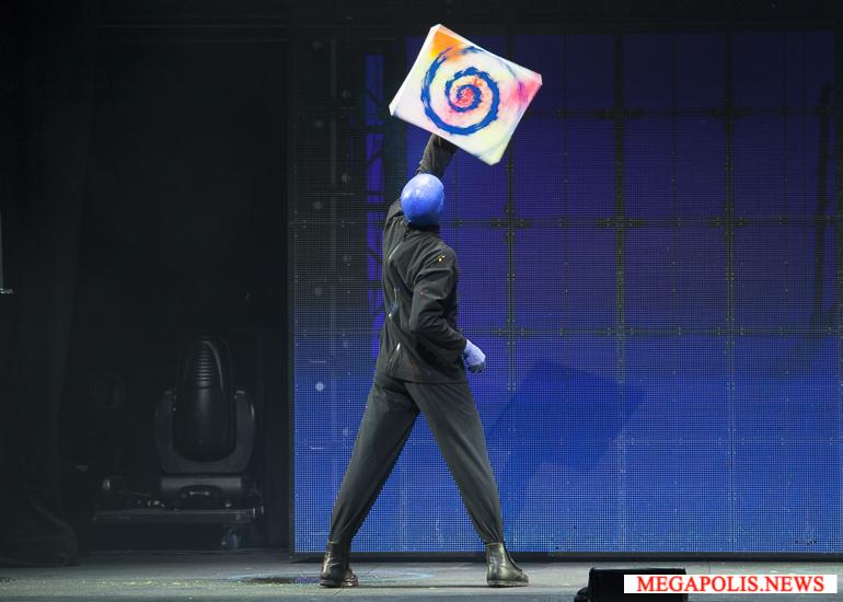 Легендарное шоу Blue Man Group впервые в России