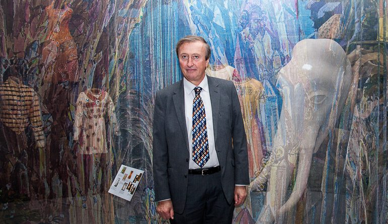 Генеральный консул Франции посетил выставку «Петипа. Танцемания»