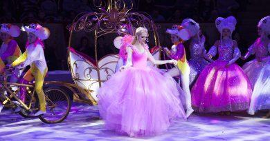 Новогодняя сказка Золушка в цирке на Фонтанке