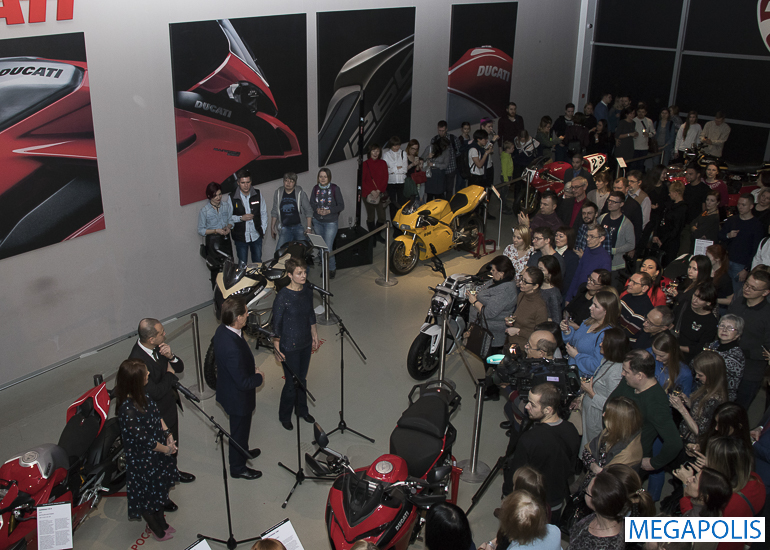 Выставка «Стиль Ducati» - история мечты и страсти