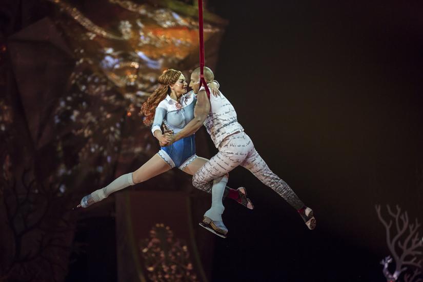 Европейская премьера первого ледового шоу Cirque du Soleil в Москве