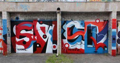 Уличный авангард в пространстве Севкабель порт