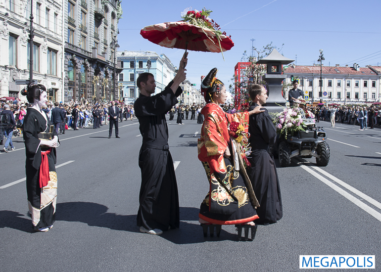 Фестиваль цветов 2019