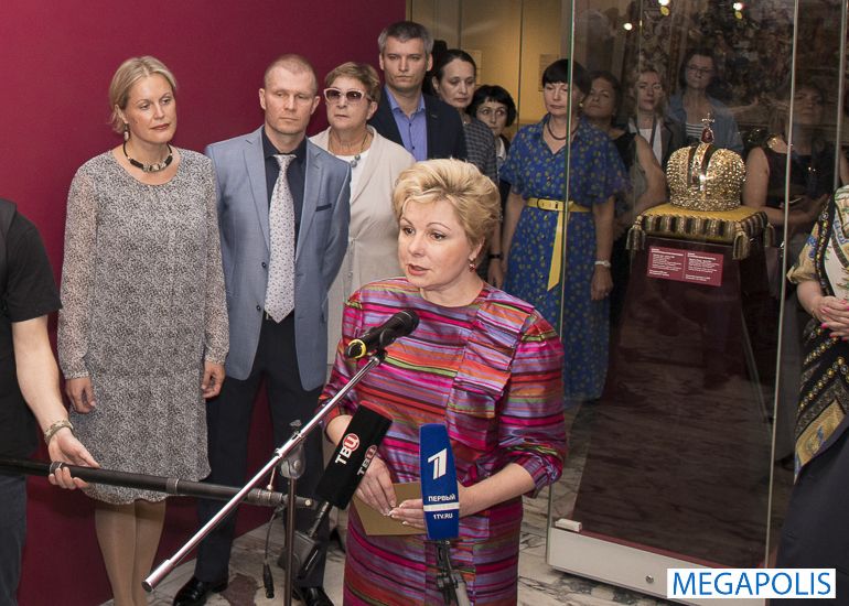 Выставка редчайших экспонатов в Музеях Московского Кремля
