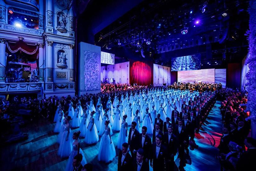 Первый Дрезденский Оперный бал в Петербурге