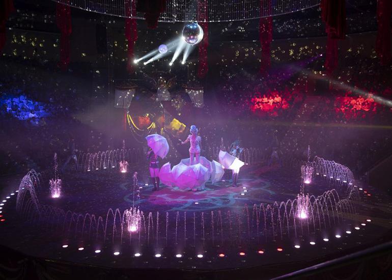 «Принц цирка»-премьера шоу в Цирке на Фонтанке
