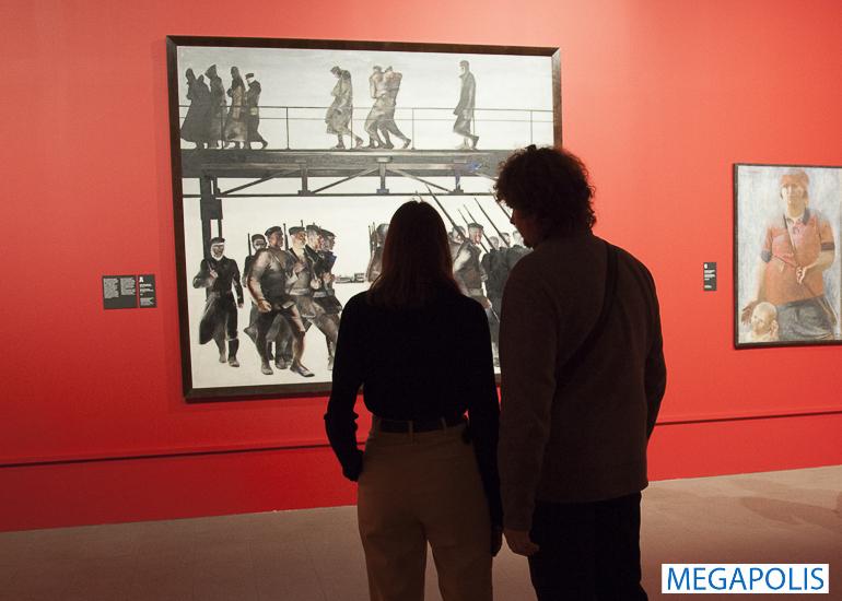 Советское прошлое в картинах: выставка Дейнеки и Самохвалова в «Манеже»