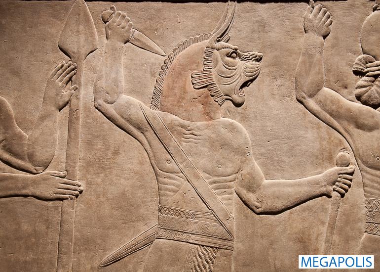Ассирийское искусство из собрания Британского музея в Эрмитаже