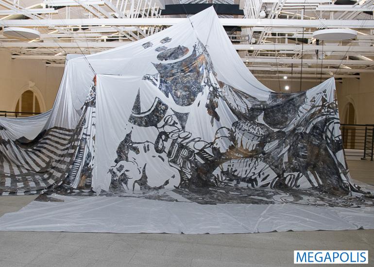 Первая выставка Ли Бул в России
