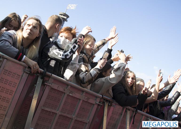 Клава Кока и Фогель выступили на фестивале СТУ.ДЭНС